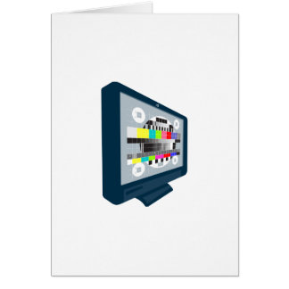 LCD Plasma TV Television Test Pattern Cards
