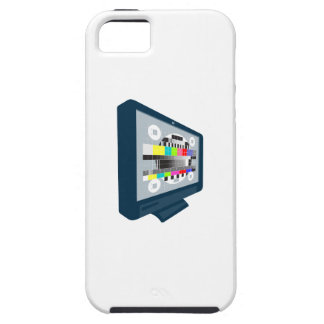 LCD Plasma TV Television Test Pattern iPhone 5 Case
