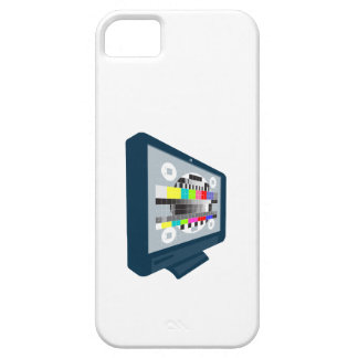 LCD Plasma TV Television Test Pattern iPhone 5 Cases