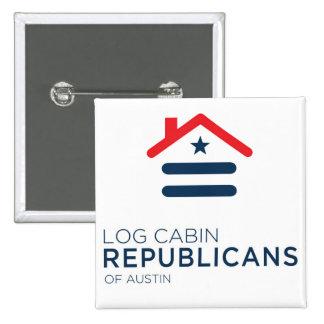 LCR Austin Square Button - New Logo