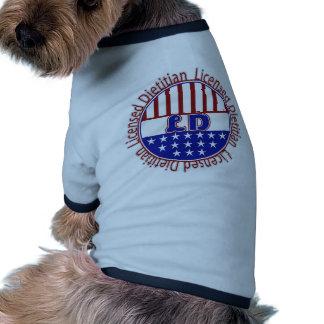 LD  Licensed Dietitian PATRIOTIC Pet Clothes