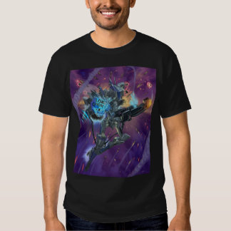 LDC Mecha with Background T-shirts