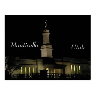 LDS church Post Cards
