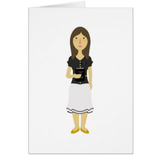 LDS Missionary Sister Greeting Card
