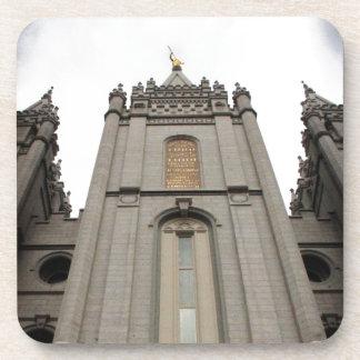 LDS Mormon Salt Lake City Temple photograph Coaster