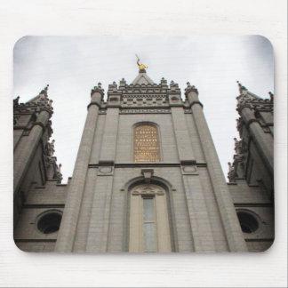 LDS Mormon Salt Lake City Temple photograph Mouse Pads