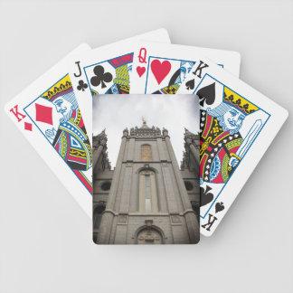 LDS Mormon Salt Lake City Temple photograph Bicycle Card Decks