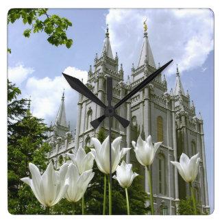 LDS Temple Wallclocks