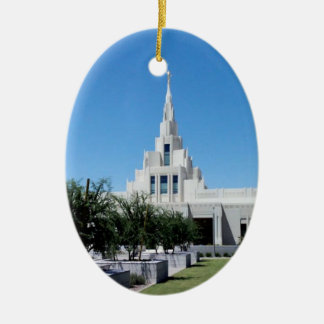 LDS Temples Christmas Ornament