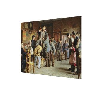 Le Bain de Pieds Inattendu, 1895 Canvas Prints