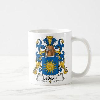 Le Beau Family Crest Coffee Mug