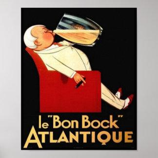 le Bon Bock Atlantique Poster