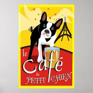 Le Cafe de Petit Chien (jour) Poster