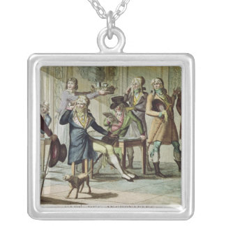 Le Cafe des Incroyables, 1797 Silver Plated Necklace