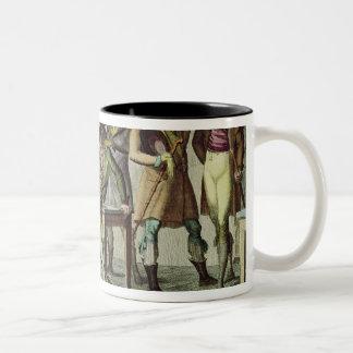 Le Cafe des Incroyables, 1797 Two-Tone Coffee Mug