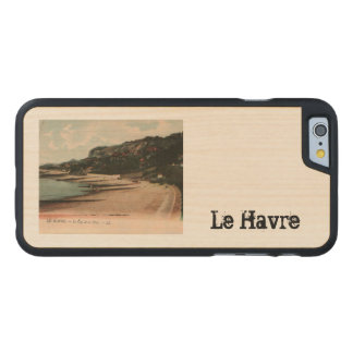 Le cap de Le Havre Cape Le Havre France 1910 Carved® Maple iPhone 6 Slim Case