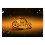 Le carrosse d'Halloween - Cartes De Vœux