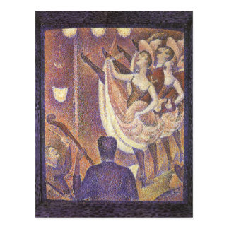Le Chahut, The Can-Can Dance by Georges Seurat Postcard