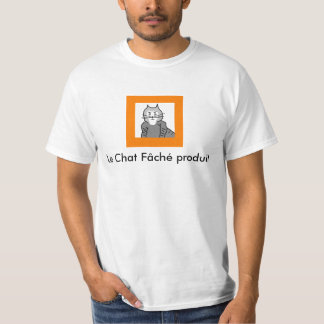Le Chat Fâché produit T-Shirt