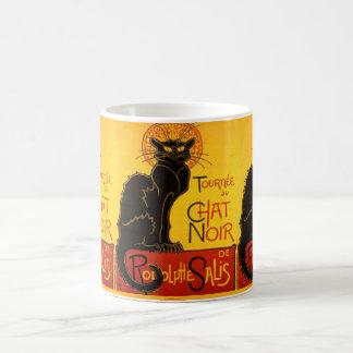 le chat noir,Art Nouveau Coffee Mug