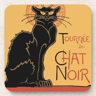 Le Chat Noir by Steinlen Coasters