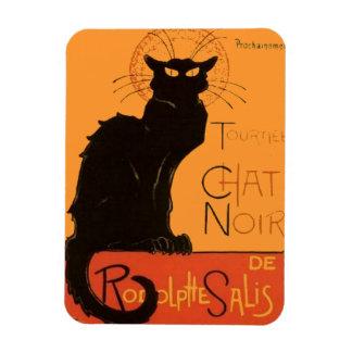 Le Chat Noir Vinyl Magnets