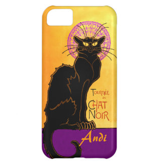 Le Chat Noir in Purple Personalized Case For iPhone 5C