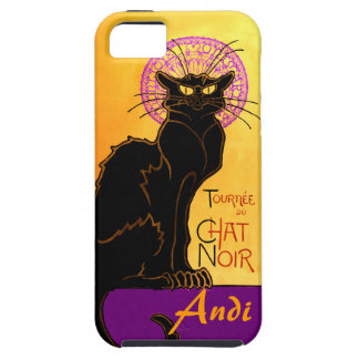 Le Chat Noir in Purple Personalized iPhone 5 Cases