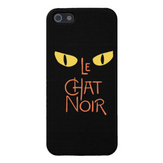 Le Chat Noir in the Dark Case For iPhone 5/5S
