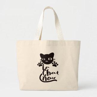 Le Chat Noir Jumbo Tote Bag