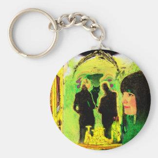 """""""Le Chat Noir"""" Key Chain"""