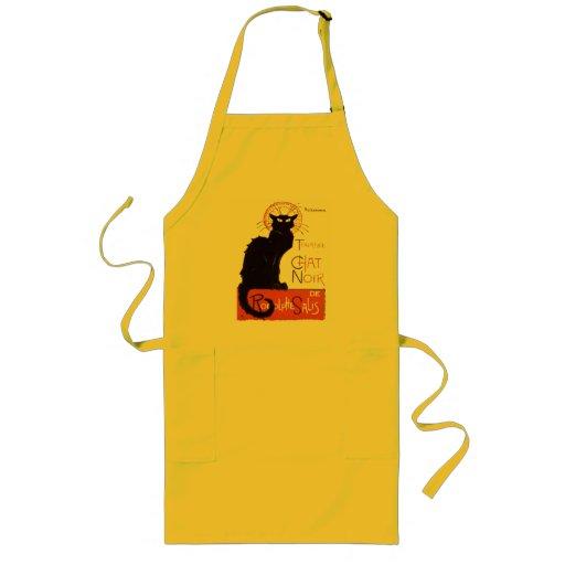 Le Chat Noir Long Apron