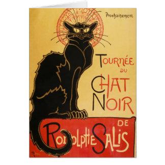Le Chat Noir Note Card
