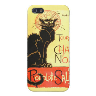 Le chat noir,Original billboard iPhone 5/5S Cover