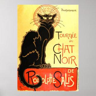 Le chat noir,Original billboard Poster