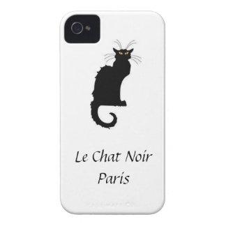 Le Chat Noir Paris iPhone Cover Case-Mate iPhone 4 Cases