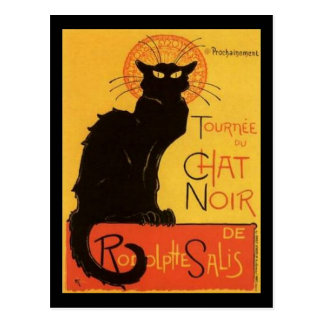 Le Chat Noir Post Card