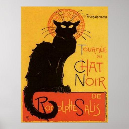 Le Chat Noir Print