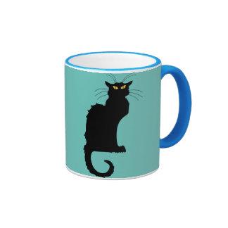 Le Chat Noir Ringer Mug