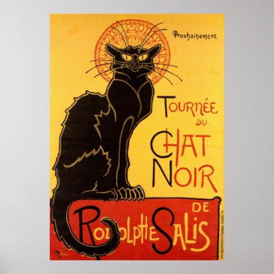 Le Chat Noir The Black Cat Art Nouveau