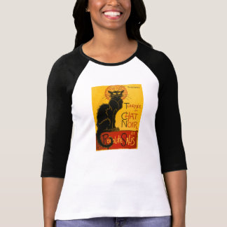 Le Chat Noir The Black Cat Art Nouveau Vintage T-Shirt