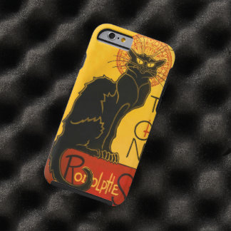 Le Chat Noir The Black Cat Art Nouveau Vintage Tough iPhone 6 Case