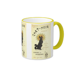 Le Chat Noir The Black Cat Mug