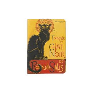 Le Chat Noir The Black Cat Passport Holder