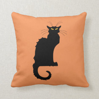 Le Chat Noir Throw Cushions