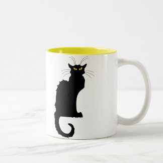 Le Chat Noir Two-Tone Mug