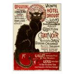 Le Chat Noir, Vente Hôtel Drouot