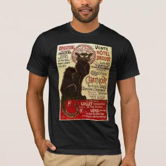 Le Chat Noir, Vente Hôtel Drouot Fine T-Shirt