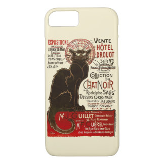 Le Chat Noir, Vente Hôtel Drouot iPhone 7 Case