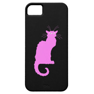 Le Chat Rose Case For The iPhone 5